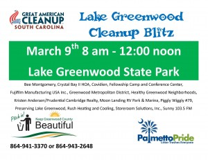 Lake Greenwood Clean-Up 2013