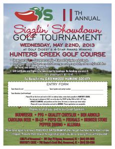 2013 Golf Tourney Poster 8 5 x 11 (3)