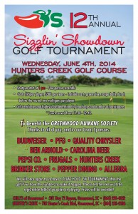 56753 - 1 2014 Golf Tourney Poster 11 x 17