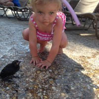 Lucy Egbert and Birdie