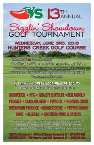 56753 - 1 2015 Golf Tourney Poster 11 x 17